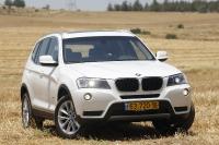 מבחן רכב משווה וולוו XC60 מול ב.מ.וו X3. ב.מ.וו X3 בדור העדכני עם מערכת X-דרייב הטובה ביותר עד היום. ומנוע דיזל חזק וחזכוני מאד. צילום: פז בר