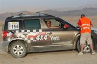 סקודה יטי 4X4 במרוץ חוצה ישראל צילומים לאתר שטח TV