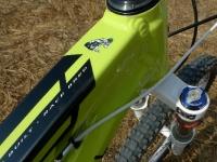 מבחן אופניי YETI SB66.  הסתכלו טוב, ככה צריך לבנות שלדה. איכות ההלחמות מעולה, הגימור מהשורה הראשונה ועיבוד שבבי ברמה של מוצר תעופתי. צילום: פז בר
