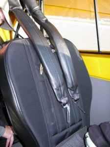 כריות אוויר משולבות ברתמות הבטיחות