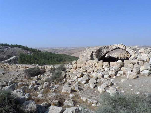 חורבת תל יתיר מהמקרא ועד היום צילום פז בר
