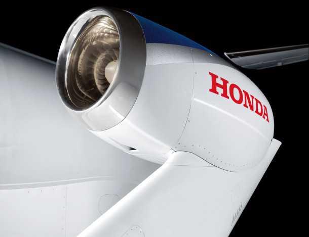 מנוע סילון מיצור הונדה אצלכם ב-2012