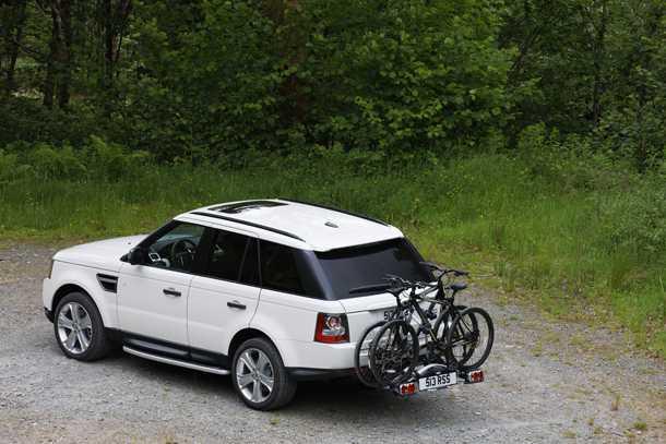 אופניים משפרים מראה כל רכב. זה נכון גם לריינג' ספורט בשטח