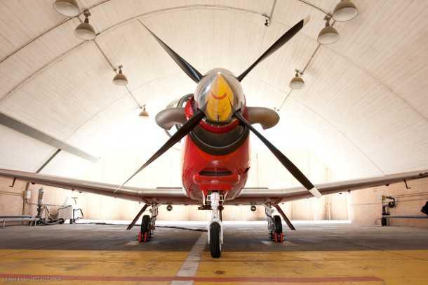 מטוס העפרוני בחיל האוויר. דור חדש של בטיחות? צילום תומר פדר