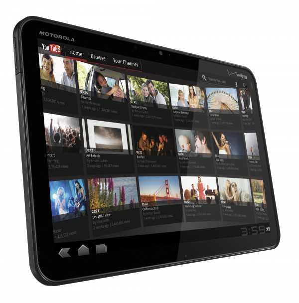 טבלט 4G ממוטורולה ברשת LTE החדשה