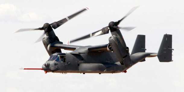 v22 בטיסת ניסוי. כמעט-30 מיליארד דולר הושקעו בפיתוח כלי הטיס