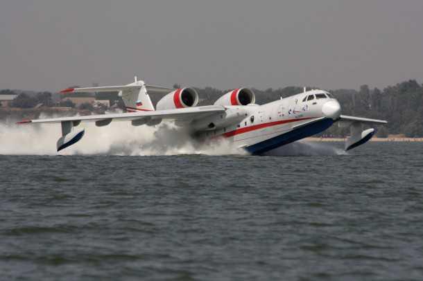 מטוס כיבוי רוסי. האם הברייב Be-200 יהיה הרוסי הראשון בחיל האוויר? צילום יצרן