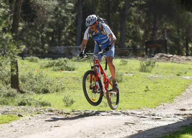 אופני הרים ספשילייזד קמבר קומפ במבחן שטח צילום פז בר