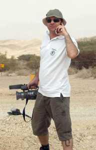 רן לוי עורך וידיאו של אתר שטח