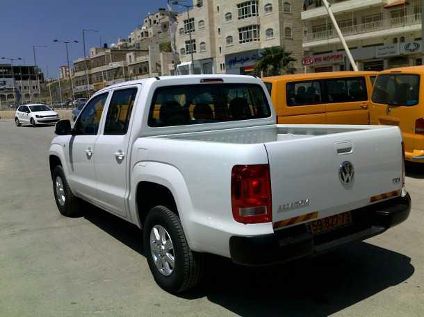 """פולקסוואגן אמארוק בישראל! 1020 ק""""ג של מטען, בקרת יציבות שלא מתנתקת בהנהע כפולה ובקרת ירידה במורד."""