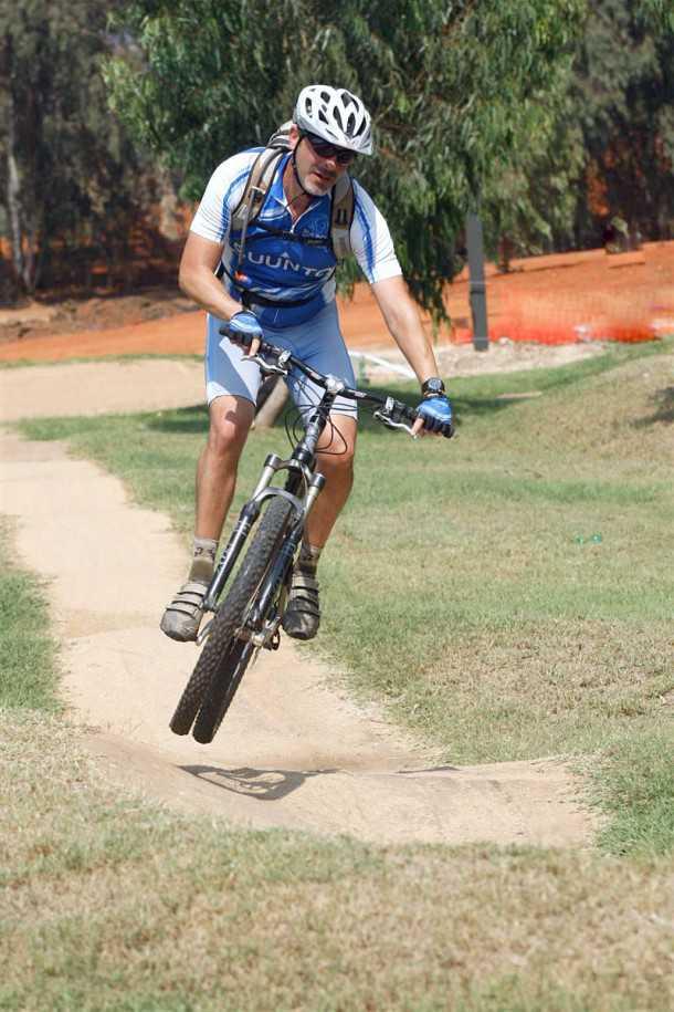 אופני הרים במבחן שטח. ל-ק.ט.מ לייקן יכולת לייצר מהירות רבה ומתלים שמסוגלים לטפל בה צילום: פז בר