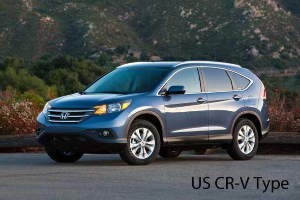 הונדה CRV. בינתיים רק לשוק האמריקאי - השקה אירופאית לרכב הפנאי צפויה בסתיו הבא צילום: HONDA