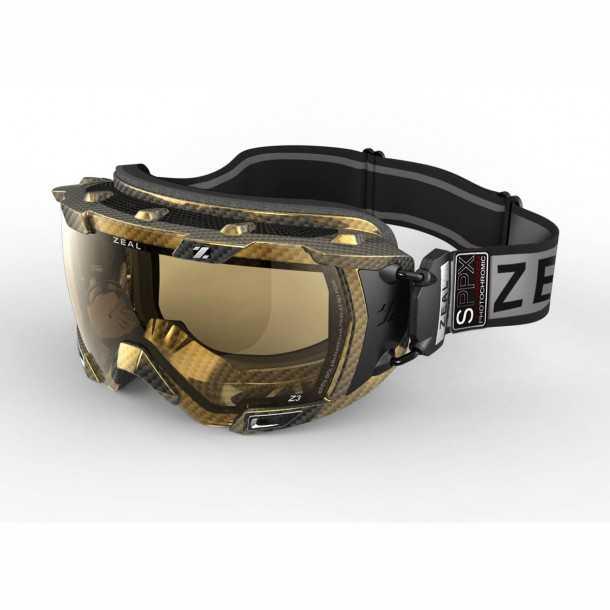 משקפי סקי עם תצוגה עילית - ה-Z3, יקרינו נתוני מהירות, גובה וזמן אוויר בקיפוצים! צילום: יצרן