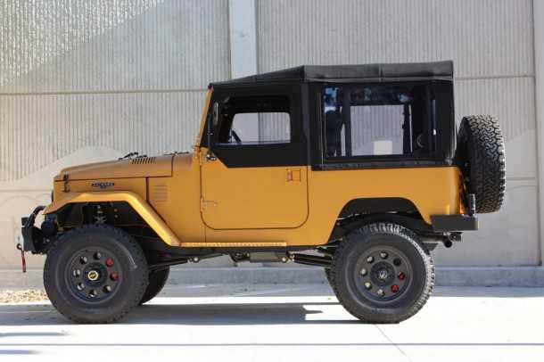 אייקון FJ דיזל - רכב התצוגה של סדנת אייקון מתערוכת LA יוצא למכירה. צילום: ICON