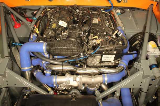 """ווילדקאט V6. יישום מירוצים ראשון למנוע TDv6 של לנדרובר. הנתונים מרשימים: 316 כ""""ס ו-58 קג""""מ. צילום: QT"""