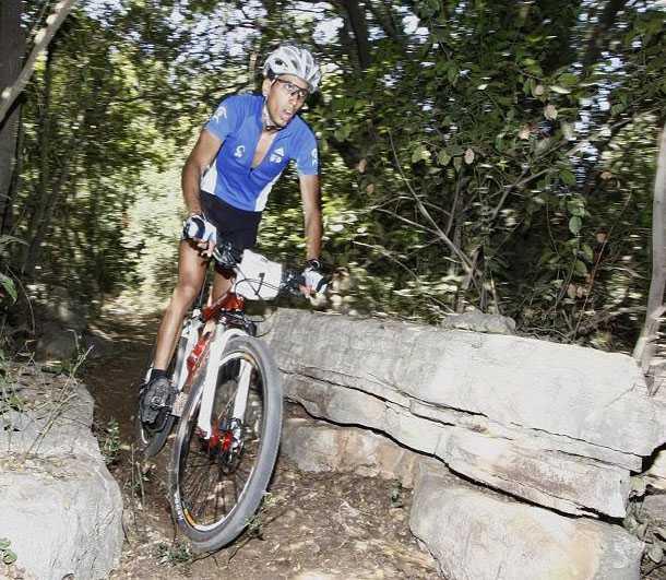 """רותם ישי - אלוף ישראל באופני הרים - הגיע למקום החמישי באליפות ארה""""ב בסייקלוקרוס למכללות. צילום: איגוד האופניים"""