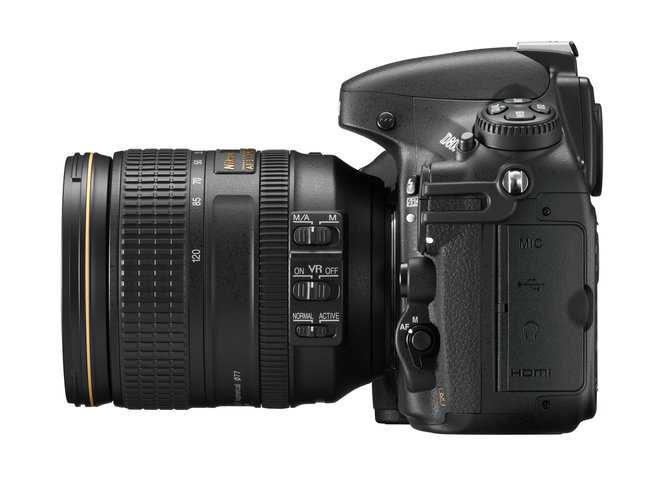 ניקון D800. המצלמה מסוגלת לצלם ווידאו באיכות שידור ברזולוציה גבוהה וכן להקליט סאונד משובח. צילום: NIKON