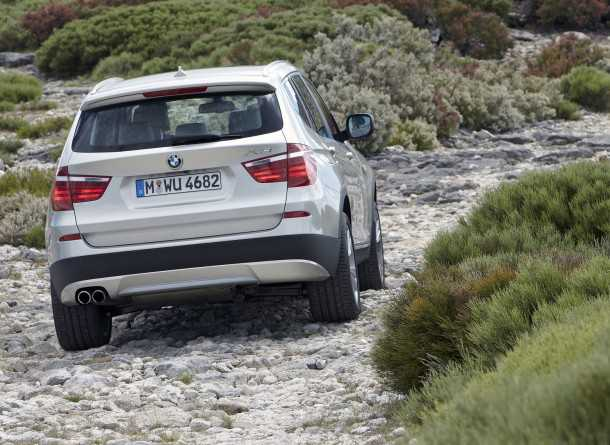 BMW X3. Photography - BMW