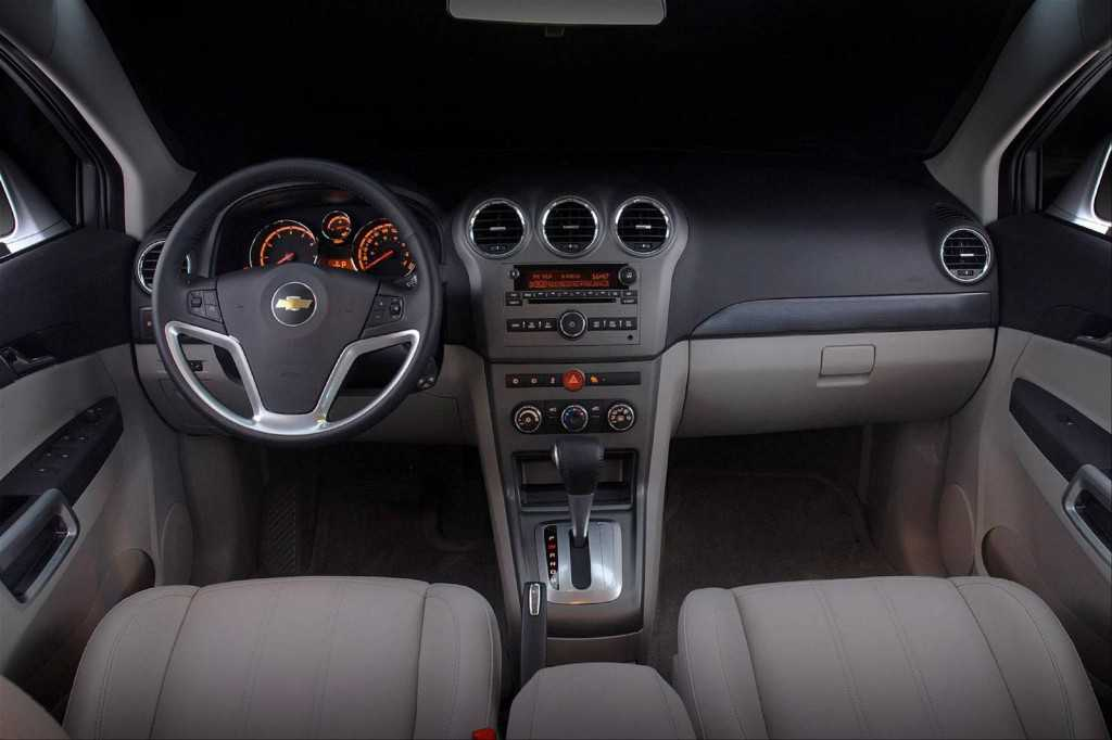 Captiva Sport Dashboard. Photography - Chevrolet