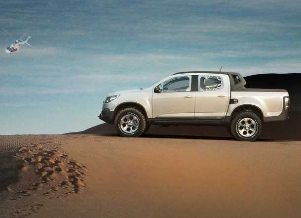 Chevrolet-Colorado Rally Concept - Photography - GM