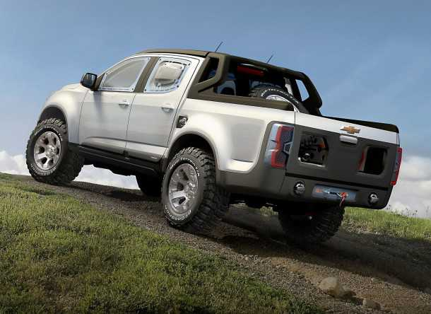 Chevrolet-Colorado Rally Concept - Photo GM