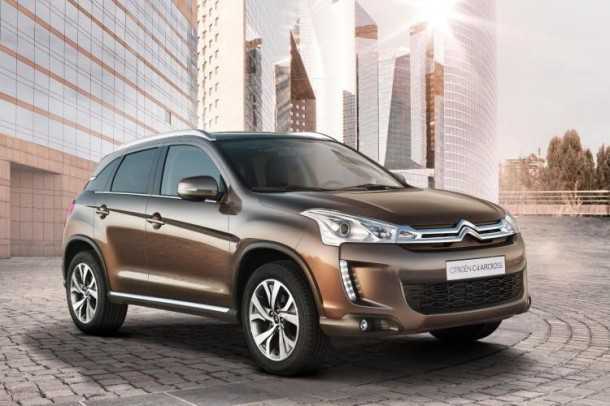 Citroen C4 Aircross. Photographt - Citroen