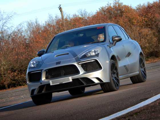 Eterniti_Testing. חאמרה במבחן - נהג פורמולה מאחרי ההגה של הסופר-SUV. צילום: איטרניטי