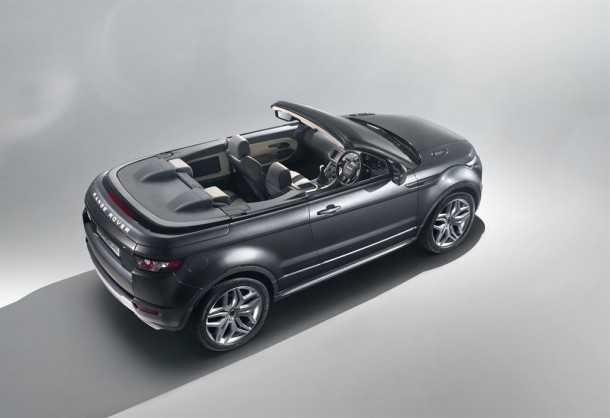Evoque Convertible. Photo - Range Rover