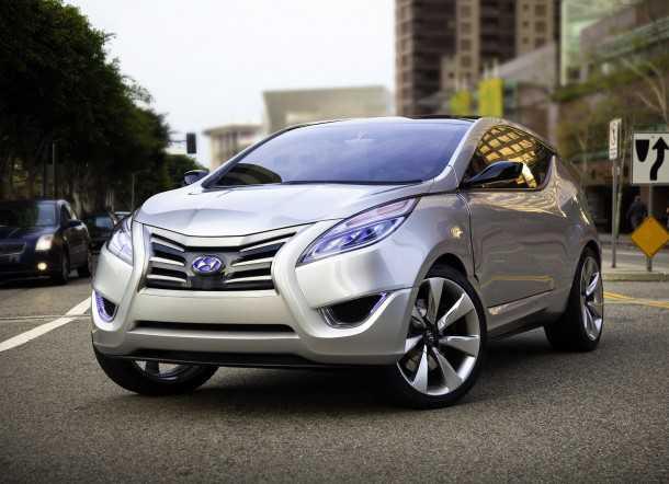 Hyundai-Nuvis-Concept-הקונספט שהתחיל את הכל. רמזים לסנטה פה החדשה. צילום: יונדאי