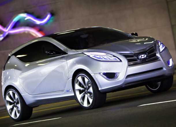 Hyundai Nuvis Concept. Photo - Hyundai