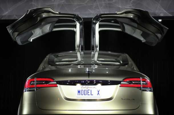 Tesla Model X. Photography - Tesla