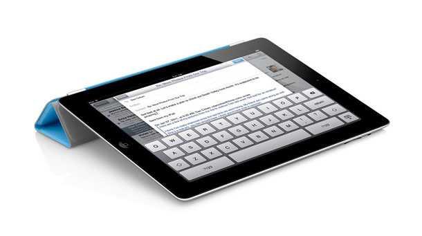 אייפד 3 החדש מאפל. סוללה חזקה יותר תקנה זמן הפעלה ממושך - אבל העובי כנראה שיגדל. אייפד 3 החדש תוך חודש בישראל. צילום: אפל