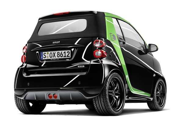 smart Brabus electric drive. קטנה סקסית ומחשמלת. סמארט ברבוס חשמלית. צילום: מרצדס