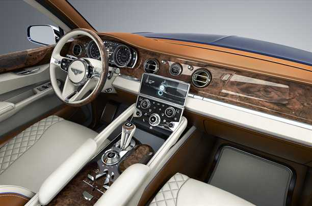 Bentley EXP 9 F Concept. Photo - Bentley