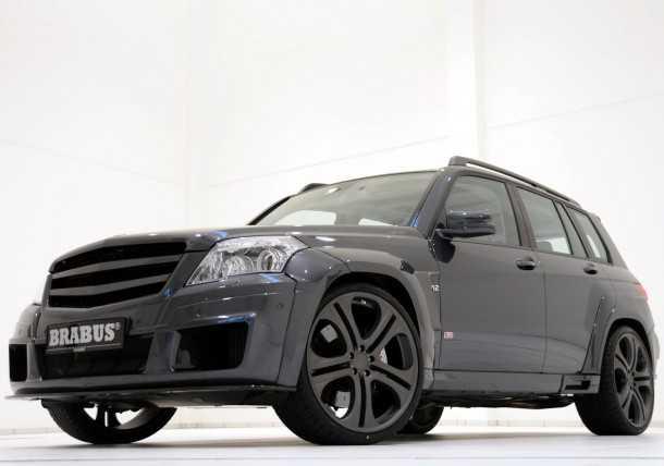 Brabus-Mercedes_Benz_GLK_V12. Photo - Brabus