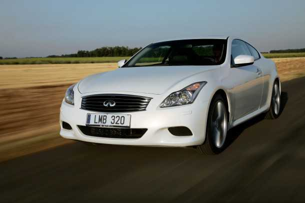 Infiniti G37 Coupe. Photo - Infiniti