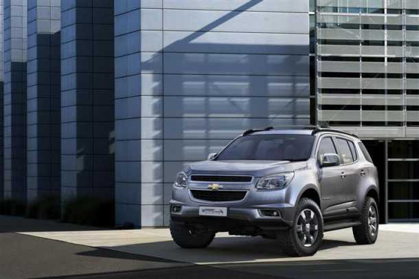 New Chevy Trail Blazer. Photo - Chevrolet