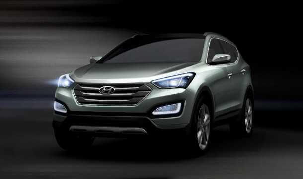 New Hyundai Santa Fe. Photo - Hyundai