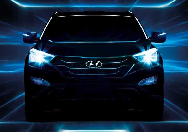New Hyundai Santa Fe. Photo - Hyundai