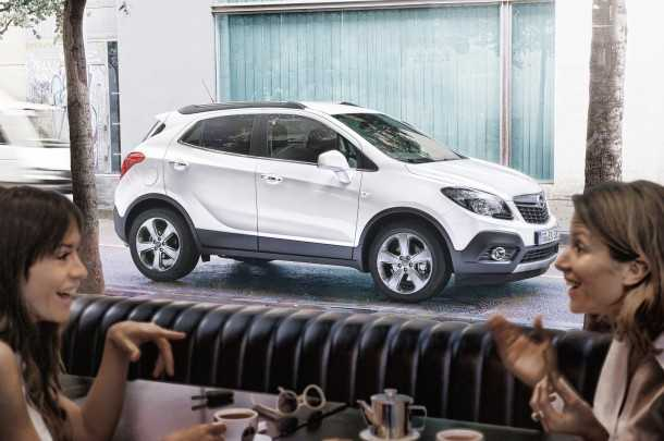 Opel-Mokka. Photo - Opel