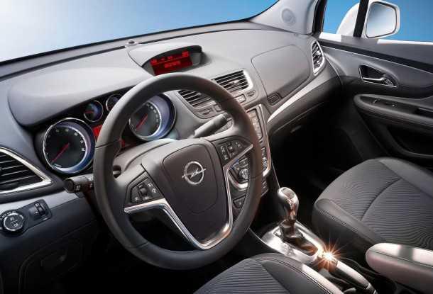 Opel-Mokka. Photo - Opel