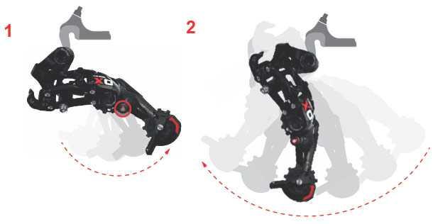 Sram-Cage-Lock. כפתור הנעילה מאפשר שיחרור המתח מהשרשרת ופירוק מהיר של הגלגל. צילום: SRAM