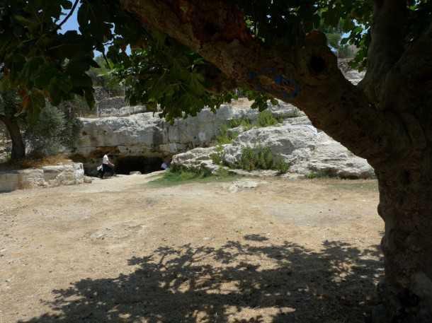 טיולי שטח עם יונדאי IX35. עצי תאנה עתיקים, נקבת עין חנה על מימיה הצוננים ושולחנות מוצלים במזג אוויר מופלא! צילום: פז בר