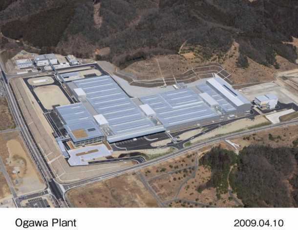 המפעל באוגוואה יפן שכמעט חדל מייצור. צילום: HONDA