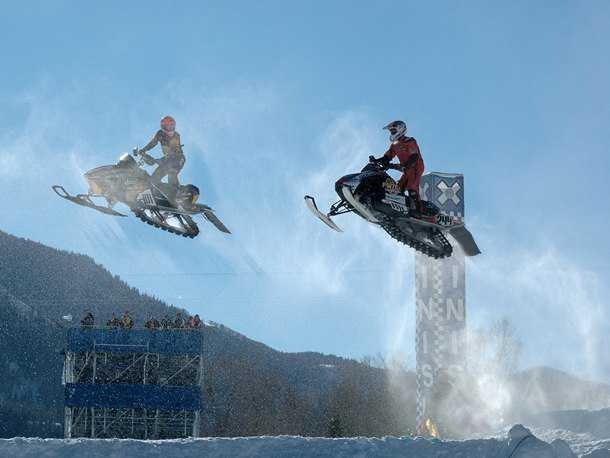 תחרויות ה-X-Games באספן קולורדו. שלושת הטובים במשחק יזכו לטיסה אל המשחקים. צילום: Arthur Mouratidis