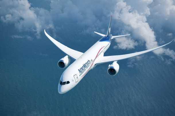 """בואינג 787 מקורקע. חברת """"אירומקסיקו"""" הזמינה 100 מטוסי בואינג 787 - תאלץ להמתין פרק זמן לא ידוע. ואל-על? צילום: בואינג"""