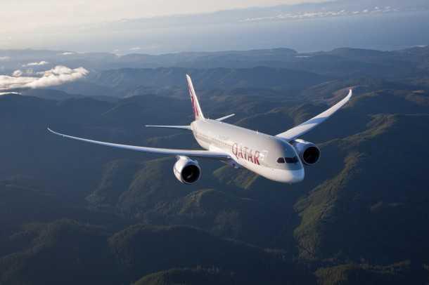 תקלות בבואינג 787. בואינג 787 של QATAR AIRWAYS - כמו זה שבצילום נאלץ לנחות נחיתת חירום בעקבות כשל חמור במערכת החשמל. צילום: בואינג