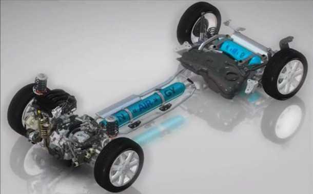 פיז'ו וסיטרואן בוחנות מערכת הנעה על אוויר דחוס. משאבת אוויר תחליף את ההנעה החשמלית בהיברידית דלק/אוויר העתידית של פיג'ו וסיטרואן. צילום: פיג'ו