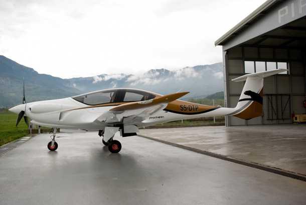 פיפיסטרל פנתרה. 1,900 קילומטרים, 200 קשר, 10 גלון/שעה, 4 מושבים, חצי מיליון דולר. צילום: PIPISTREL