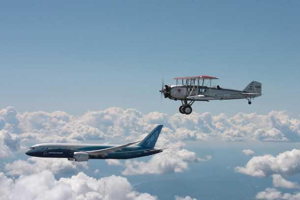 בואינג 787 מקורקע. 80 שנות מוניטין, כמו גם תביעות ענק מצד חברות התעופה שמטוסיהן קורקעו, עומדים על הפרק. צילום: בואינג